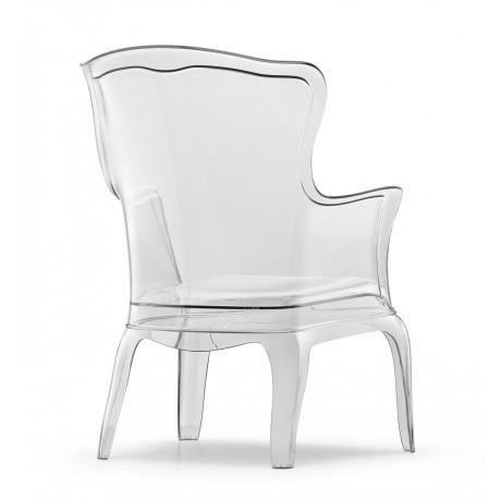 pedrali fauteuil pasha pedrali transparent achat vente fauteuil polycarbonate paille. Black Bedroom Furniture Sets. Home Design Ideas