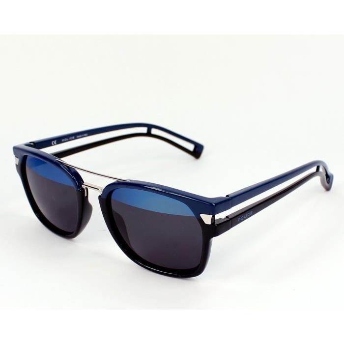 lunettes de soleil police s1948 neymar jr1 1fhh noir bleu noir bleu achat vente lunettes. Black Bedroom Furniture Sets. Home Design Ideas