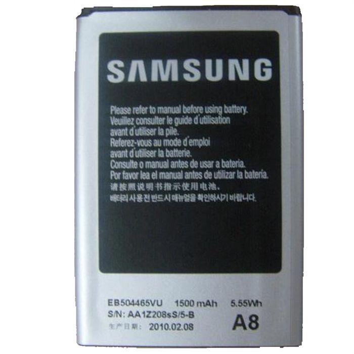 batterie samsung eb504465vu 1500 mah li ion 3 7v achat batterie t l phone pas cher avis et. Black Bedroom Furniture Sets. Home Design Ideas