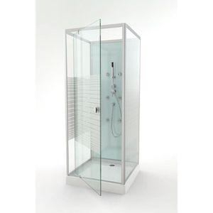 CABINE DE DOUCHE AURLANE Cabine de douche Easy Glass 80x80cm