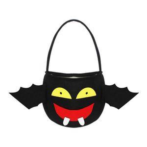 DÉGUISEMENT - PANOPLIE EOZY Sac Halloween Sac à Bonbon Cadeau Diable Noir