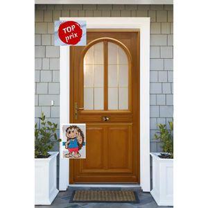 porte d entree bois achat vente porte d entree bois pas cher cdiscount. Black Bedroom Furniture Sets. Home Design Ideas