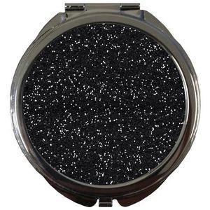 Miroir noir strass achat vente miroir noir strass pas for Miroir paillette