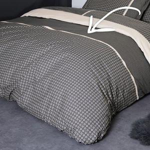 housse de couette geometrique achat vente housse de couette geometrique pas cher cdiscount. Black Bedroom Furniture Sets. Home Design Ideas