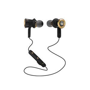 CASQUE - ÉCOUTEUR AUDIO MONSTER Clarity HD Casque Audio sans Fil - or