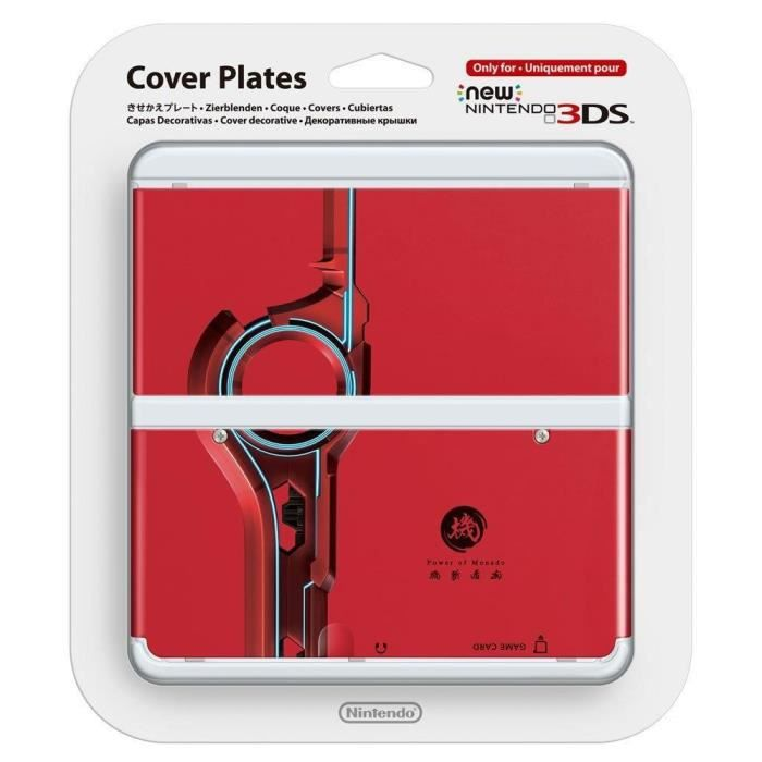 Coque n 25 xenoblade chronicles new nintendo 3ds achat for Coque 3ds xl pokemon