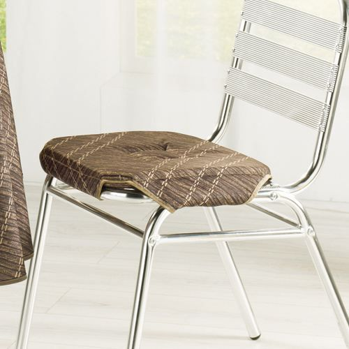 galette de chaise canisse choco 35x35cm achat vente coussin de chaise cdiscount. Black Bedroom Furniture Sets. Home Design Ideas