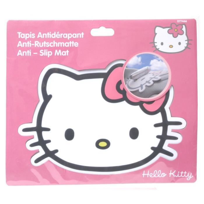 Tapis Antid Rapant Hello Kitty Achat Vente Tapis De Sol Tapis Antid Rapant Hello Kitty