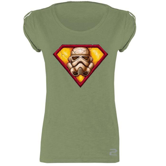 shirt 3D STORMTROOPER STAR WARS Réalité Augmentée FEMME T shirt