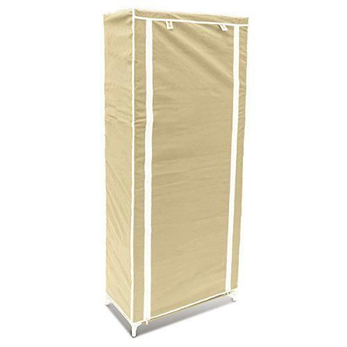 relaxdays 10018856 127 armoire pliable chaussure avec 9. Black Bedroom Furniture Sets. Home Design Ideas