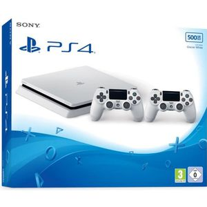 playstation 4 blanche achat vente playstation 4. Black Bedroom Furniture Sets. Home Design Ideas