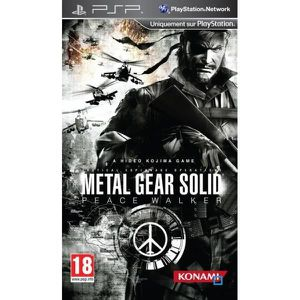 JEU PSP METAL GEAR SOLID PEACE WALKER / Jeu console PSP