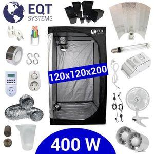 KIT DE CULTURE Pack Tente 400W 120x120 - ETI + Supacrop