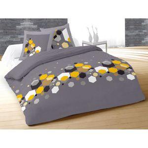 housse de couette geometrique achat vente housse de couette geometrique p. Black Bedroom Furniture Sets. Home Design Ideas
