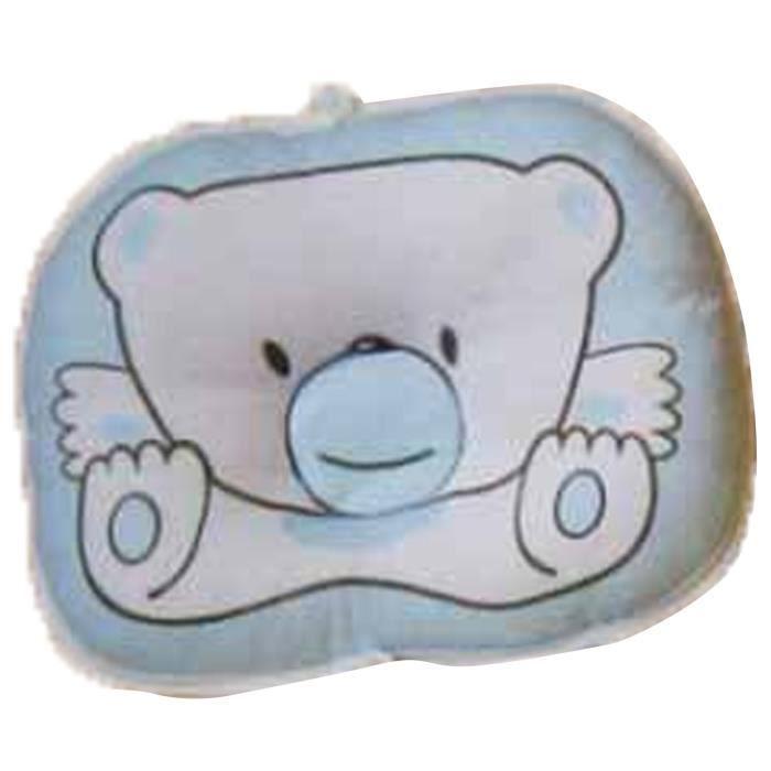 kongkay b b anti bias oreiller avec une belle bande dessin e ours imprim bleu achat. Black Bedroom Furniture Sets. Home Design Ideas