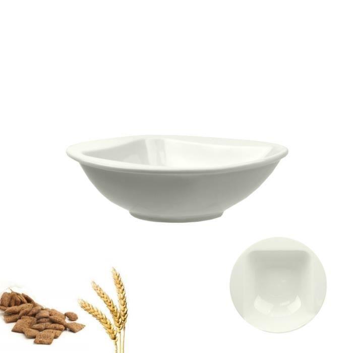 assiette calotte c ramique blanche parfaite achat vente service complet cdiscount. Black Bedroom Furniture Sets. Home Design Ideas