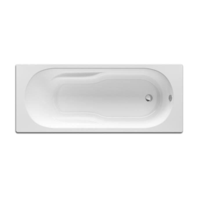 baignoire rectangulaire avec pieds neo genova 170x75 blanc achat vente baignoire kit. Black Bedroom Furniture Sets. Home Design Ideas