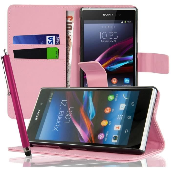 housse portefeuille sony xperia m stylet achat vente housse portefeuille so