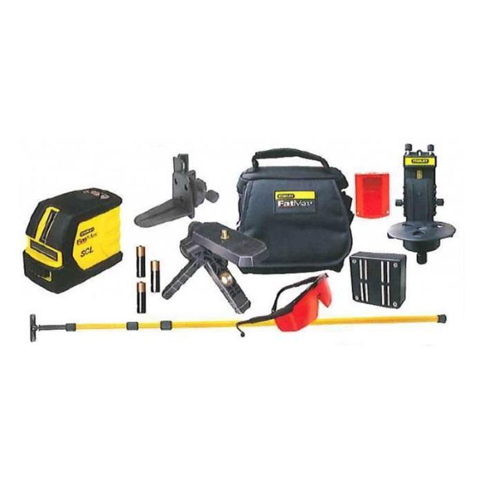 Stanley scl 6 97 728 kit niveau laser croix accessoires achat vente niv - Niveau laser croix cubix stanley ...