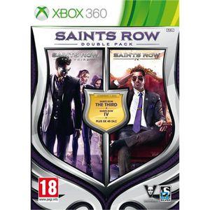 JEUX XBOX 360 Double Pack Saints Row Jeu XBOX 360