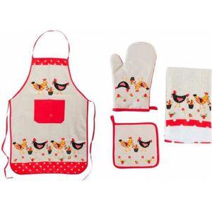 Tablier poule achat vente tablier poule pas cher les for Manique de cuisine