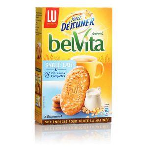 THÉ PETIT DEJEUNER Sablés lait céréales, 6 x 400 gr