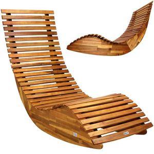 transat de jardin en bois achat vente transat de jardin en bois pas cher cdiscount. Black Bedroom Furniture Sets. Home Design Ideas