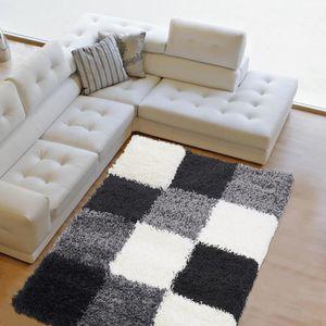 tapis moderne de salon achat vente tapis moderne de salon pas cher les soldes sur. Black Bedroom Furniture Sets. Home Design Ideas