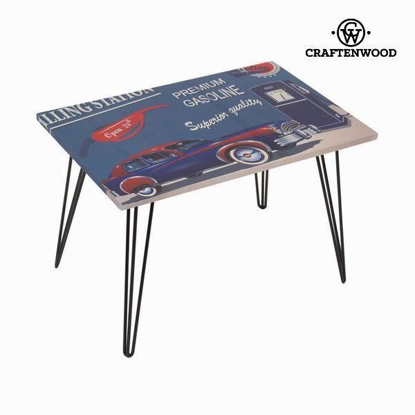 Table basse avec voiture bleue by craften wood achat - Table de cuisine 6 personnes ...