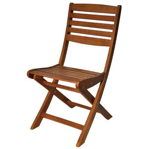 Lot de 2 chaises pliantes en eucalyptus baliwood achat for Lot chaise de jardin