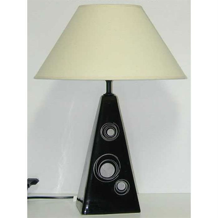 Object moved for Lampe a poser ceramique
