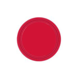 assiettes rouge achat vente assiettes rouge pas cher cdiscount. Black Bedroom Furniture Sets. Home Design Ideas