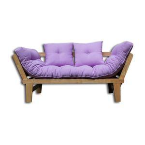 housse futon achat vente housse futon pas cher soldes cdiscount. Black Bedroom Furniture Sets. Home Design Ideas