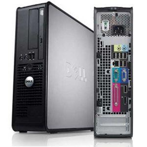UNITÉ CENTRALE  dell 780 4Go 240Go SSD MSI 2Go DDR3 Wifi