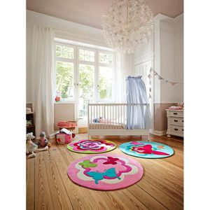 Tapis chambre fille rose achat vente tapis chambre - Tapis rose pour chambre fille ...