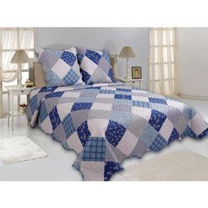 boutis bleu achat vente boutis bleu pas cher les soldes sur cdiscount cdiscount. Black Bedroom Furniture Sets. Home Design Ideas
