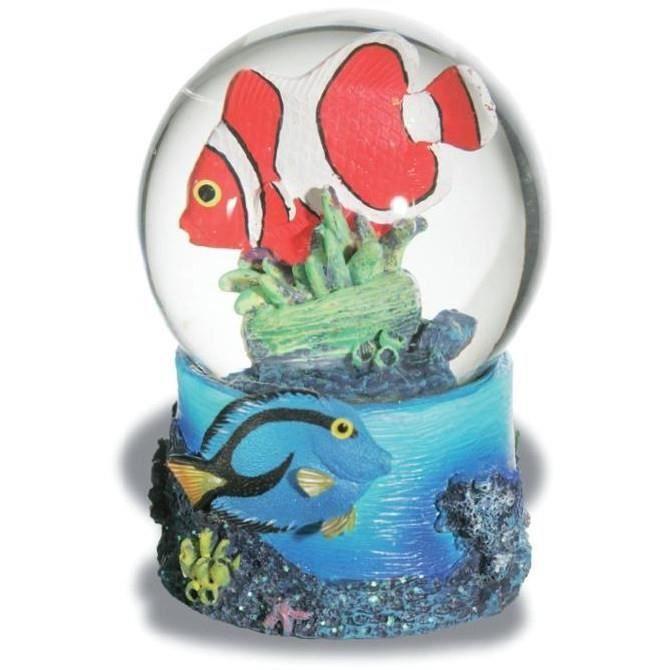 Boule de neige figurine statuette poisson clown achat for Achat poisson clown