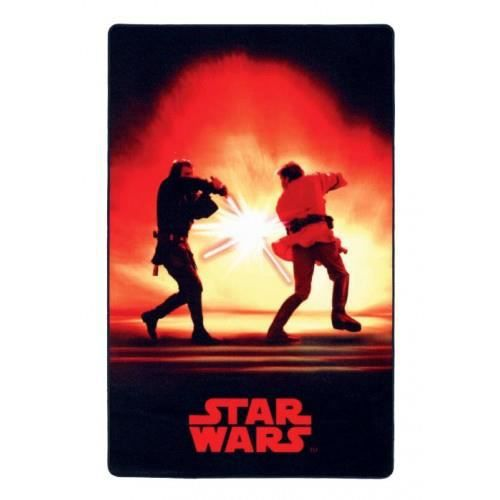 star wars tapis red fight 100 x 160 cm achat vente. Black Bedroom Furniture Sets. Home Design Ideas