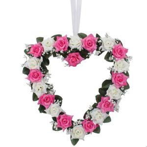 En forme de coeur vase achat vente en forme de coeur vase pas cher cdis - Fleurs en forme de coeur ...