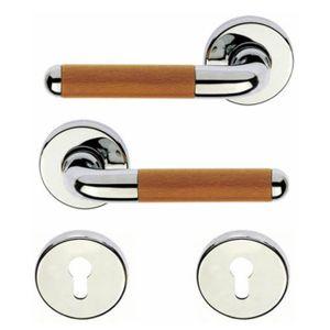 Poign e de porte d 39 entr e design en laiton chrom achat vente poign e de porte cdiscount - Poignee de porte d entree exterieure ...
