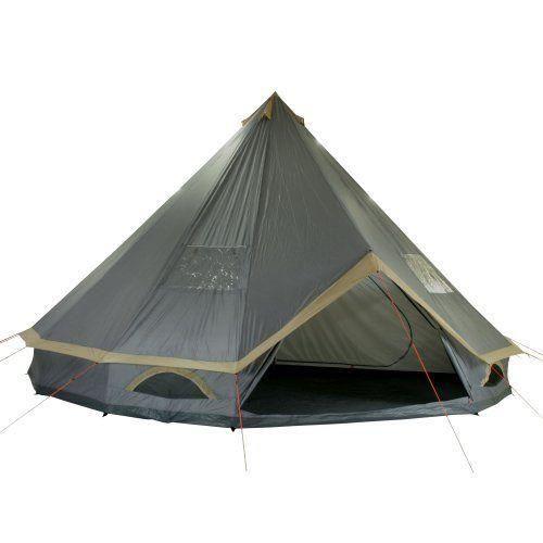 10t mojave 600 plus tente pyramide pour 12 personnes gris. Black Bedroom Furniture Sets. Home Design Ideas