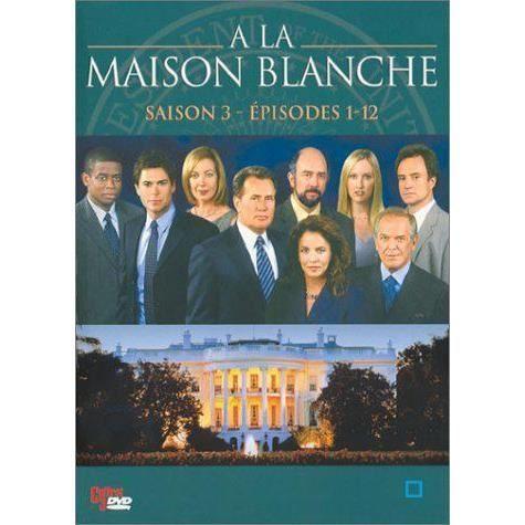 Dvd a la maison blanche saison 3 partie 1 en dvd s rie for A la maison blanche saison 3