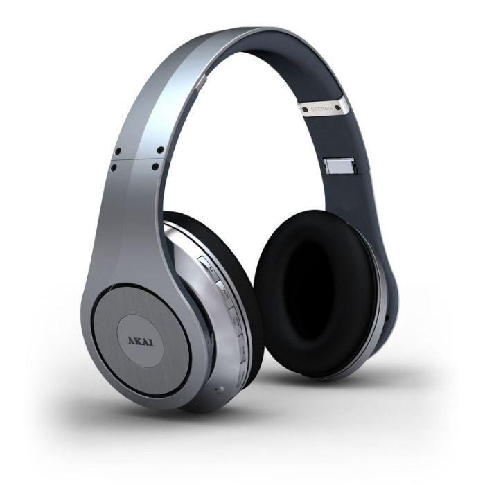 akai ah 48 argent casque bluetooth avec micro casque couteur prix pas cher cdiscount. Black Bedroom Furniture Sets. Home Design Ideas