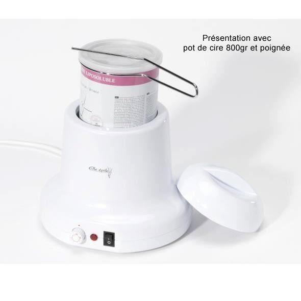 chauffe pot pour cire piler elle 39 epile achat vente chauffe cire cdiscount. Black Bedroom Furniture Sets. Home Design Ideas