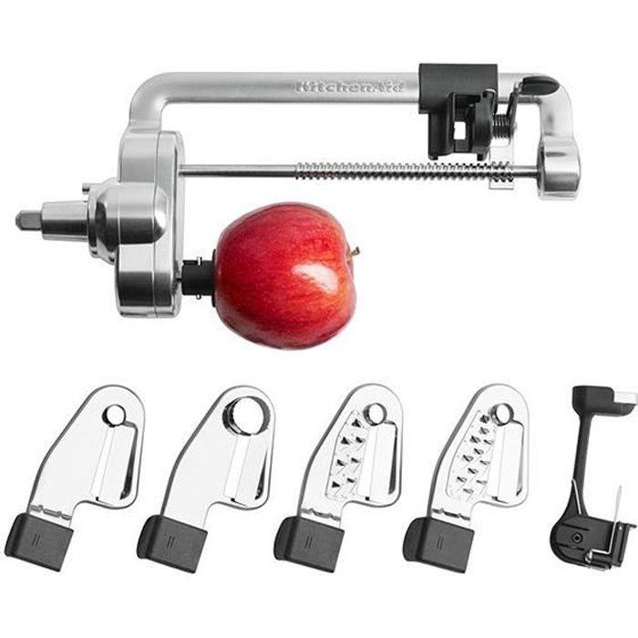 kitchenaid accessoire taille l gumes en spirales pour robot artisan 5ksm1apc achat vente. Black Bedroom Furniture Sets. Home Design Ideas