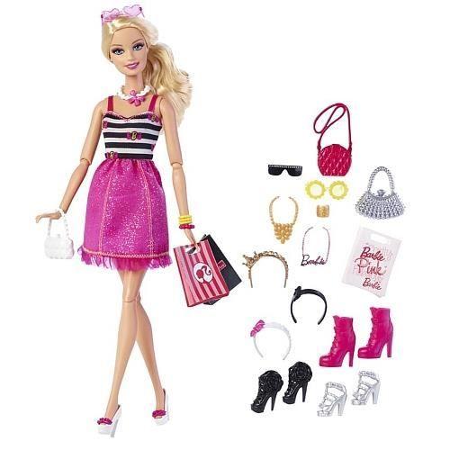 poup e barbie et ses accessoires achat vente poup e les soldes sur cdiscount cdiscount. Black Bedroom Furniture Sets. Home Design Ideas
