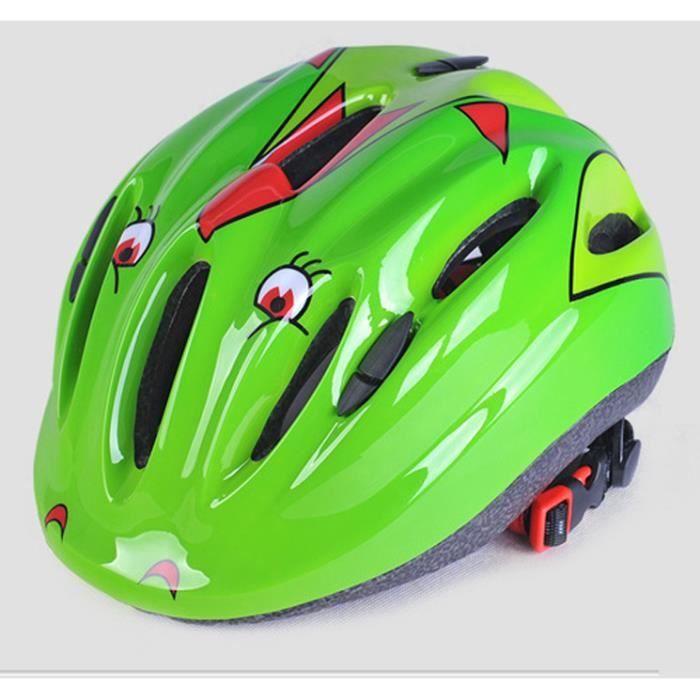 mengma casque anti choc bonnet de protection casque de v lo casque de patinage vert pour enfants. Black Bedroom Furniture Sets. Home Design Ideas