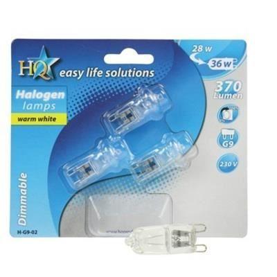 3 ampoules halogene g9 28w 36w 40w 220v 230v 240v achat vente ampoule led cdiscount. Black Bedroom Furniture Sets. Home Design Ideas