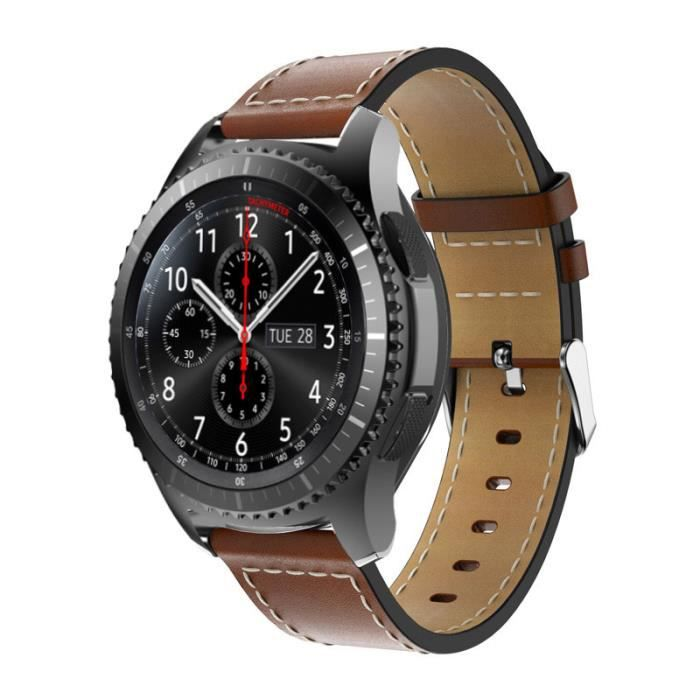 gear s3 band venter luxury genuine leather watch band. Black Bedroom Furniture Sets. Home Design Ideas