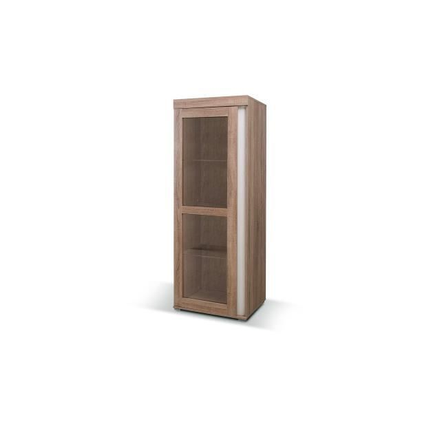 Porte vitree pour meuble conceptions de maison - Meuble haut gris cuisine avec porte vitree 2 abattants ...